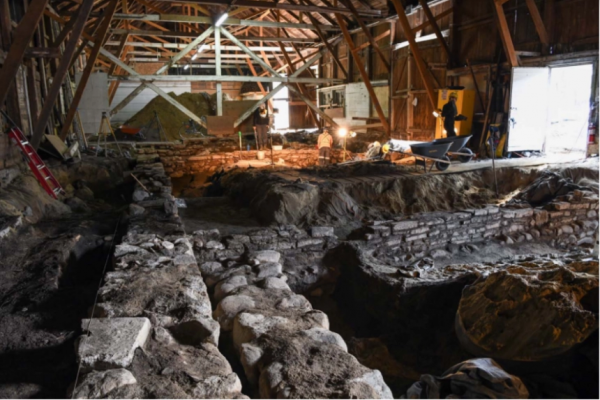 Domaine de Maizerets historic barn to get major restoration