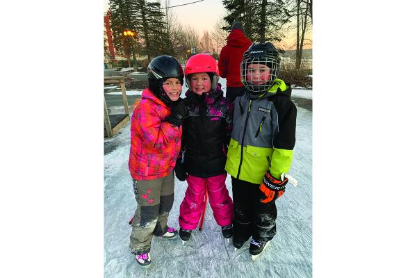 Skaters rejoice as ice rinks  open in the Townships