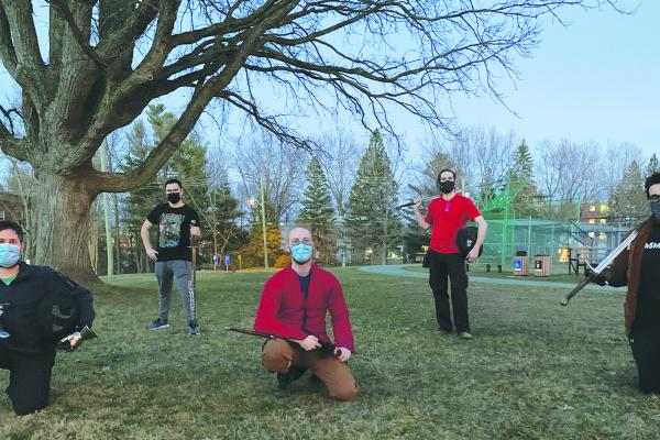 Sherbrooke club keeps medieval martial arts alive in the Townships