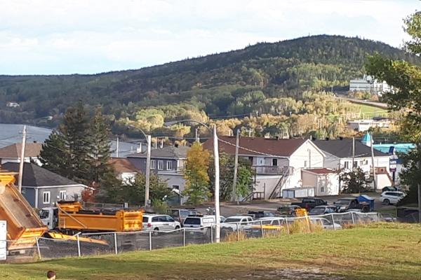 Plan is secured to move Gaspé MTQ garage