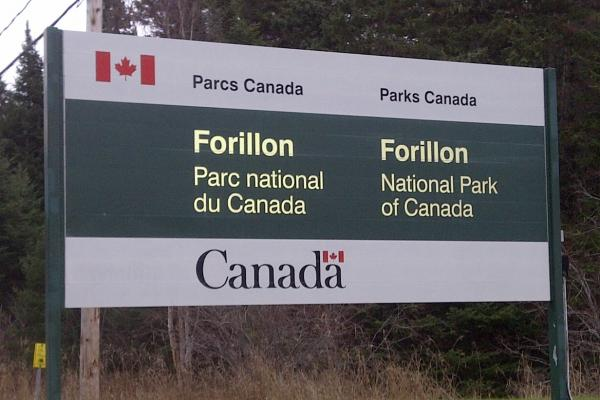 Marked drop in traffic at Forillon