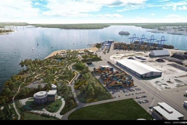 Baie de Beauport park improvements planned next to terminal