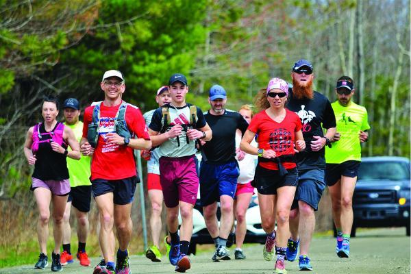 Sherbrooke pediatrician sets off on three-day ultramarathon fundraiser for Moisson Estrie