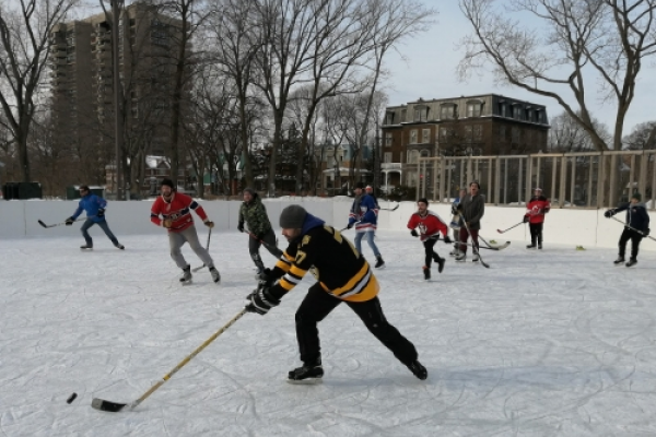 Outdoor rinks to be built; hockey on hold for now