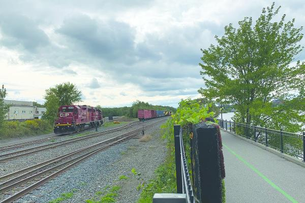 Sherbrooke resident speaks out about idling trains at Lac des Nations
